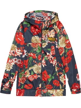 Spring Bouquet Nylon Jacket