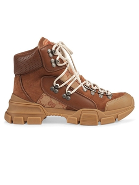 Leather and Original GG Flashtrek boots