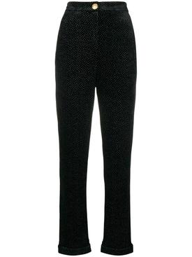 glitter trousers