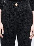 Balmain - Glitter Trousers - Women