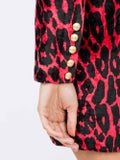Balmain - Leopard Print Mini Dress - Women