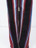Balmain - Halterneck Stripe Fitted Maxi Dress - Women