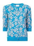Barrie - Floral Embroidered Cardigan - Women
