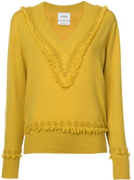 Barrie - Embroidered Fitted Sweater - Women