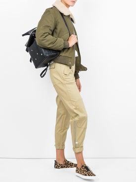 Saint Laurent - Shearling-trimmed Bomber Jacket - Women