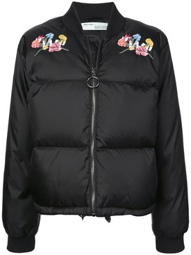 Off-white - Embroidered Bomber Jacket - Women