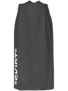 Off-white - Formal Longuette Skirt - Women