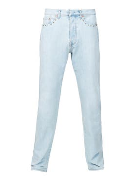 Valentino - Studs Detail Slim Jeans - Men