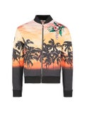 Valentino - Palm Tree Print Bomber Jacket - Men