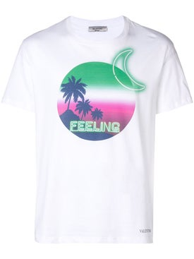 Valentino - Feelings Graphic T-shirt - Men