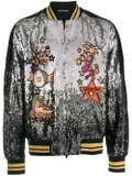 Valentino - Sequined Bomber Jacket - Men
