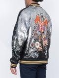 Valentino - Sequined Bomber Jacket - Men
