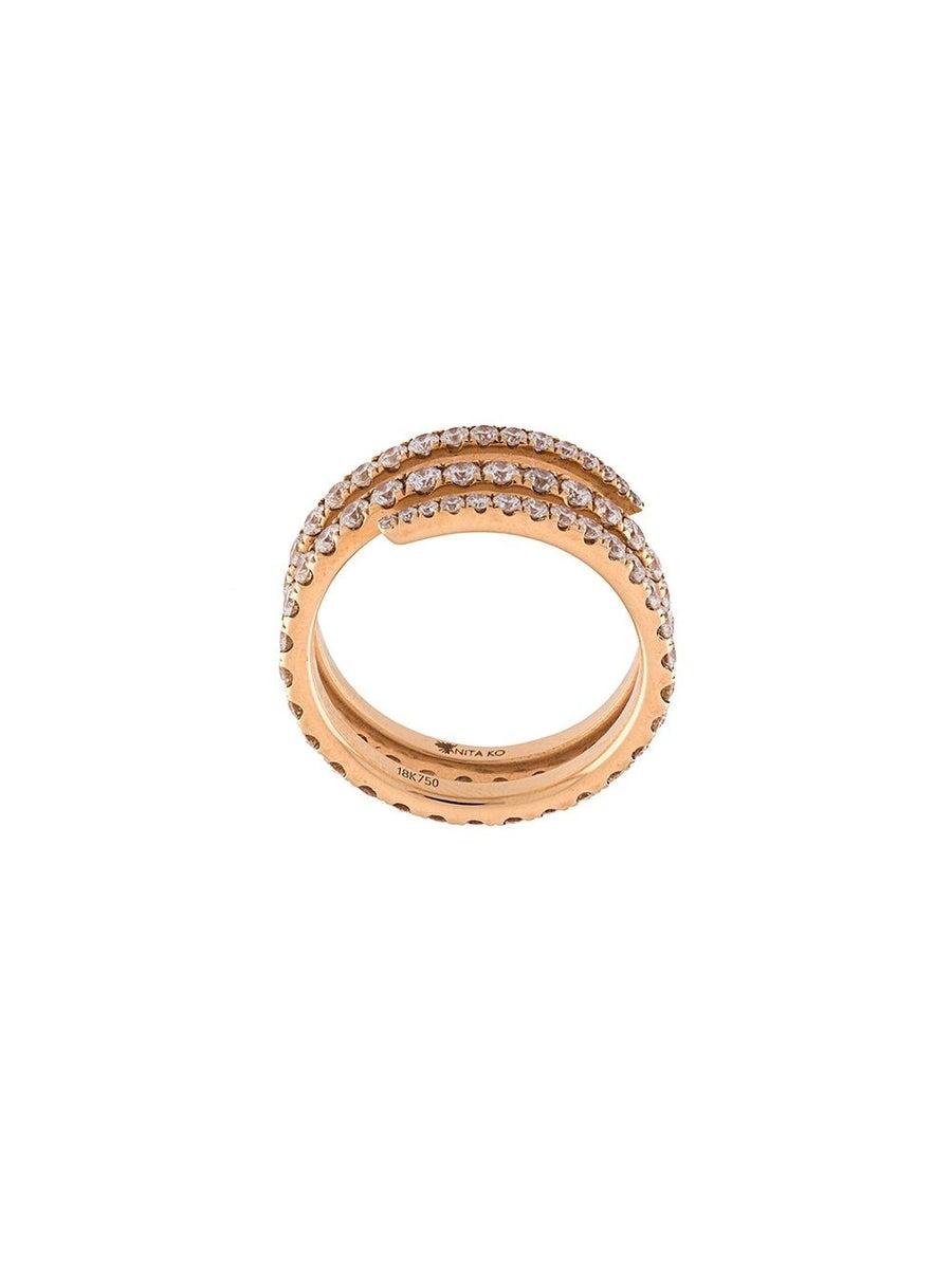 Anita Ko COIL DIAMOND RING