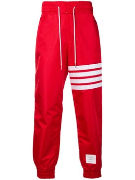 Thom Browne - 4-bar Track Pants Red - Men