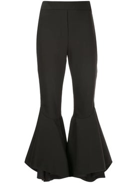 Ellery - Full Flare Cropped Trousers - Women