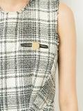 Alexanderwang - Checked Sleeveless Dress - Women