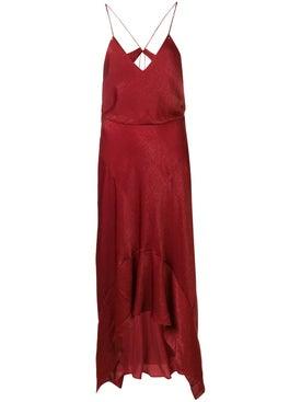 Esteban Cortazar - Tie Back Slip Dress - Women