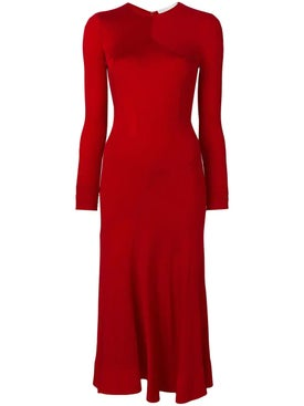 Esteban Cortazar - Long Sleeve Full Circle Dress - Women