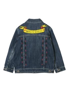 Magic gucci jean jacket BLUE