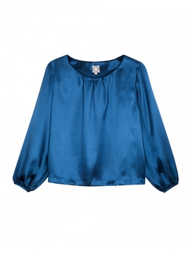 Aria blouse BLUE
