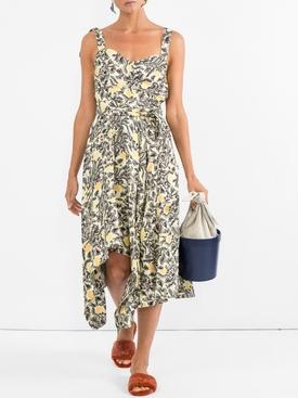 asymmetrical dress MULTICOLOR