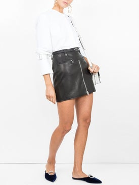 Proenza Schouler - Long-sleeve Cropped Shirt - Women