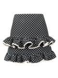 Valentino - Polka Dot Frilled Skirt - Women