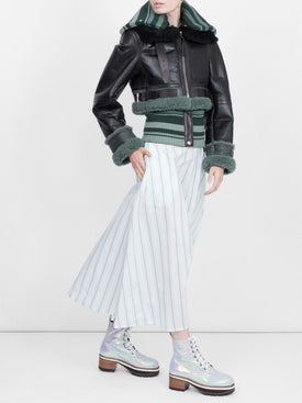 Acne Studios - Shearling Leather Jacket - Women