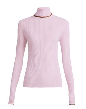light knit turtleneck