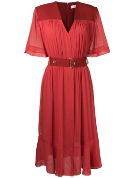 cady midi dress RED