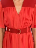 Chloé - Cady Midi Dress Red - Women