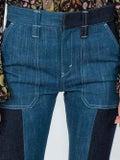 Chloé - Panelled Boot-cut Jeans - Women