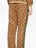 Gucci - Gg Supreme Print Cotton Blend Sweat Pants - Men
