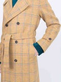 Giuliva Heritage Collection - Christie Wool Trench Yellow - Women