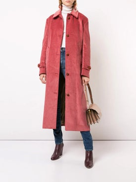 Giuliva Heritage Collection - Corduroy Single-breasted Coat - Women