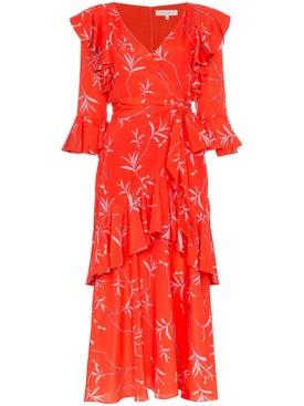 Borgo De Nor - Aiana Wrap Frill Dress - Women