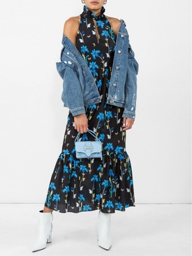 Jasmine Floral Dress BLACK