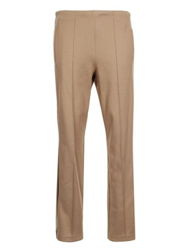 Maison Margiela - Side-stripe Fitted Trousers Beige - Men