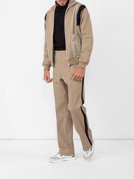 Maison Margiela - Side-stripe Fitted Trousers Beige - Men