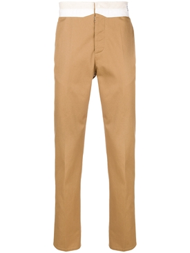 classic tailored trousers CARAMELO