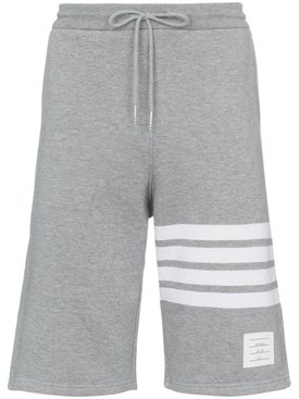 Thom Browne - Striped Cotton Jersey Shorts - Men