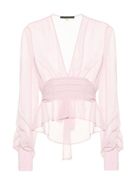 Alexachung - Sheer Evening Smock Top Pink - Women