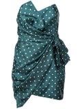Alexandre Vauthier - Asymmetric Polka Dot Dress - Women