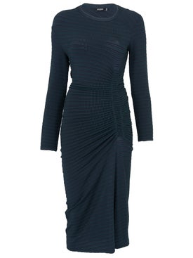 Atlein - Long Sleeve Ruched Dress - Women