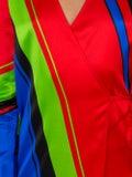 Attico - Printed Satin Robe Dress - Women