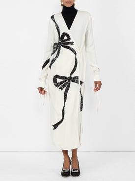 Attico - Embellished Bow Dress - Women