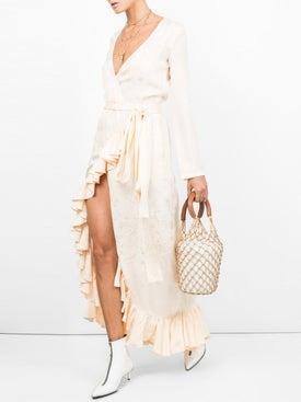 Attico - Satin Jaquard Dress - Women