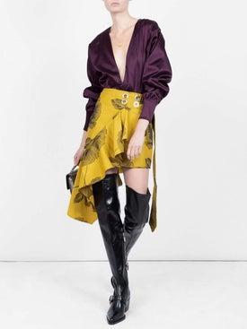 Attico - Satin Bodysuit - Women