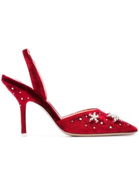 star embellished pumps