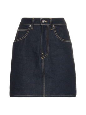 Raw denim Tallulah Skirt